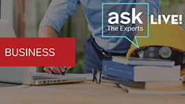 Business Ask The Experts Live