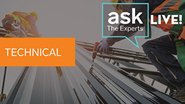 Technical Ask The Experts Live