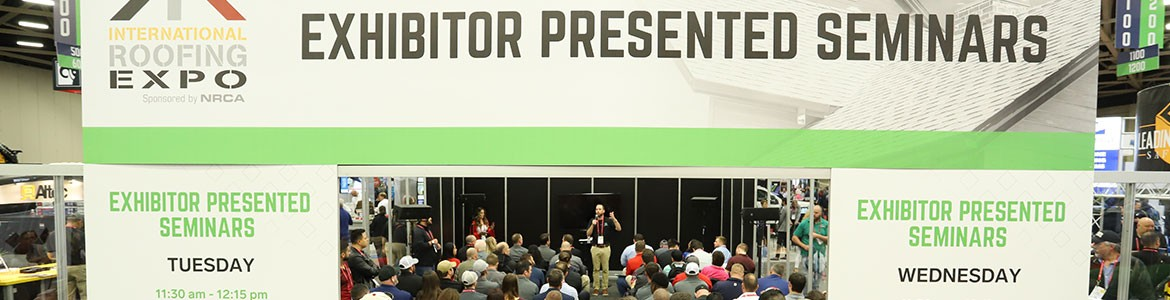 Exhibitor Presented Seminars